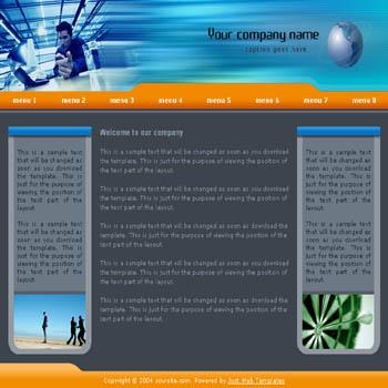 Website Template - RedLeaves
